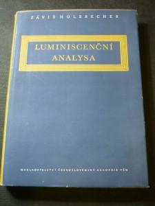 náhled knihy - Luminiscenční analysa