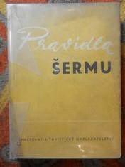 náhled knihy - Pravidla šermu platná od 1. ledna 1962