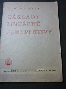 náhled knihy - základy lineárné perspektivy
