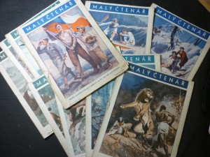 náhled knihy - malý čtenář časopisy čísla 1,2,3,6,12,14,15,16,17,18