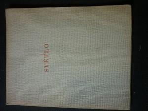 náhled knihy - Světlo : Hra  podpis autora