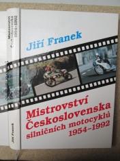 náhled knihy - Mistrovství Československa silničních motocyklů 1954 - 1992