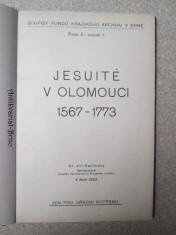 náhled knihy - Jesuité v Olomouci 1567 - 1773