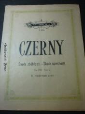 náhled knihy - Czerny:škola zběhlosti-škola spretnosti