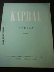 náhled knihy - kaprál lyrica piano