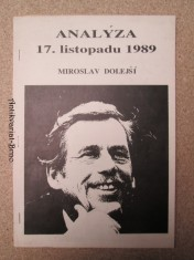 náhled knihy - Analýza 17. listopadu 1989. Příloha týdeníku Republika