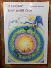 náhled knihy - O andílkovi, který kreslil Zemi : Barevné pohádky