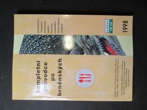 náhled knihy - Kompletní průvodce po brněnských restauracích, vinárnách, hospodách, barech, pivnicích, kavárnách, night clubech, hotelech. 1998
