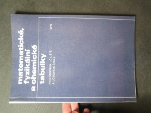náhled knihy - Matematické, fyzikální a chemické tabulky pro odborná učiliště a učňovské školy