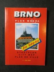 náhled knihy - Brno. Plán města do kapsy