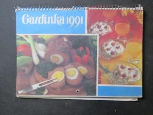 náhled knihy - Nástenný kalendár Gazdinka 1991