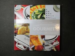 náhled knihy - Gourmet. Pojďme vařit s Zepterem! Návody, doporučení a recepty