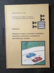 náhled knihy - Přehled otázek z pravidel silničního provozu a provozu vojenských motorových vozidel