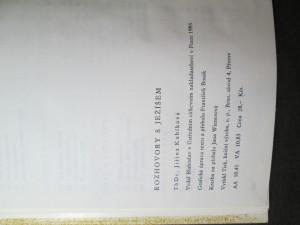 náhled knihy - Rozhovory s Ježíšem