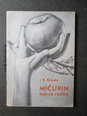 náhled knihy - Mičurin, tvůrce rostlin