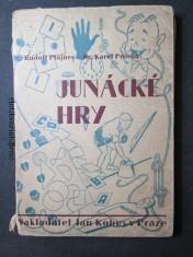 náhled knihy - Junácké hry pro školy a oddíly