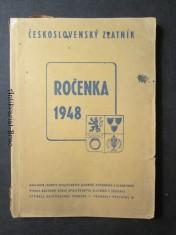náhled knihy - Ročenka 1948. Československý zlatník
