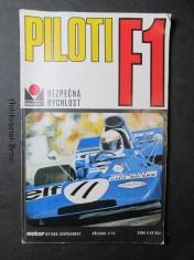 náhled knihy - Piloti F1. Příloha Motoristické současnosti
