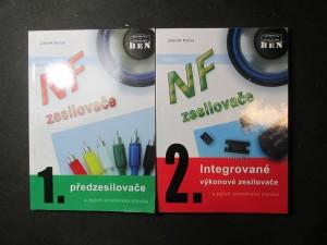 náhled knihy - NF zesilovače 1. a 2. díl: Předzesilovače a Integrované výkonové zesilovače a jejich amatérská stavba