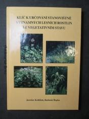náhled knihy - Klíč k určování stanoviště významných lesních rostlin ve vegetativním stavu