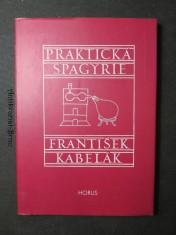 náhled knihy - Praktická spagyrie : [alchymická teorie a universální předpisy k výrobě kvintesencí a spagyrických přípravků]
