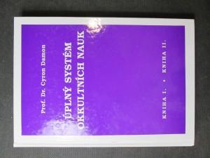 náhled knihy - Úplný systém okkultních nauk, Kniha I. a Kniha II.