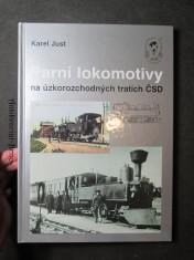 náhled knihy - Parní lokomotivy na úzkorozchodných tratích ČSD