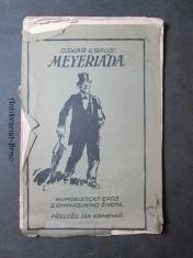 náhled knihy - Meyeriáda : Humoristický epos z gymnasijního života
