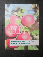 náhled knihy - Rady drobným pěstitelům ovoce a zeleniny