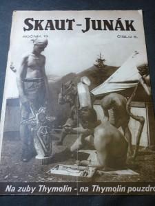 náhled knihy - Skaut-Junák číslo 5,ročník 19