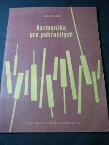 náhled knihy - Harmonika pre pokročilých výber z diel C. Czerného, H. Bertiniho a J.B. Duvernoya