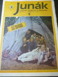 náhled knihy - Junák:časopis skautů a skautek číslo 5,ročník 33
