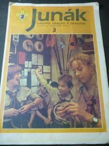 náhled knihy - Junák:časopis skautů a skautek číslo 3,ročník 33