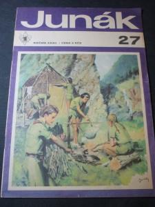 náhled knihy - skaut Junák číslo 27,ročník 32