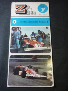 náhled knihy - Závodní automobily formule 1
