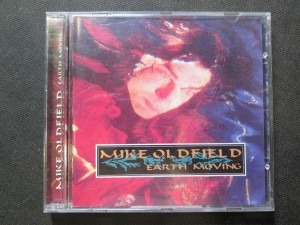 náhled knihy - Mike Oldfield. Earth moving