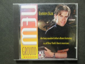 náhled knihy - New ground. Tommy Igoe. The long awaited debut album featuring 24 of New Yorks finest musicians