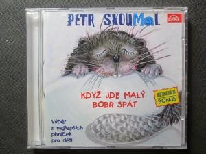 náhled knihy - Petr Skoumal - Když jde malý bobr spát. Výběr nejlepších písniček pro děti