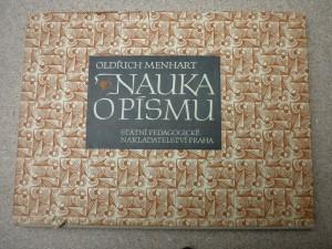 náhled knihy - Nauka o písmu : pomocná kniha pro prům. školy grafické a pro školy uměleckého směru