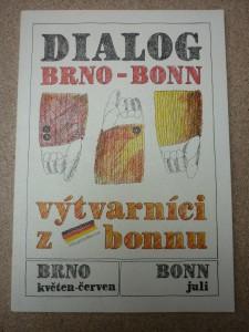náhled knihy - dialog Brno-Bonn: výtvarnící z bonnu