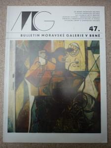 náhled knihy - bulletin Moravské galerie v Brně číslo 47