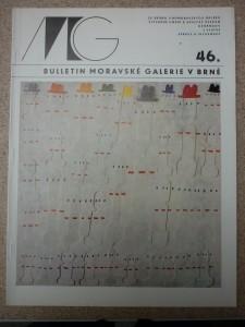 náhled knihy - bulletin Moravské galerie v Brně číslo 46