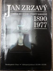 náhled knihy - Jan Zrzavý:výstava ke stému výročí narození