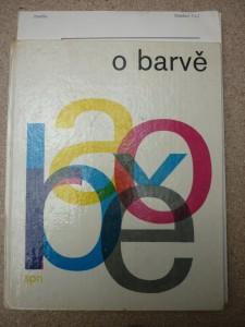 náhled knihy - o barvě: optická stránka barevnosti ve výtvarnictví