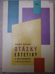 náhled knihy - Otázky estetiky v přítomnosti i minulosti