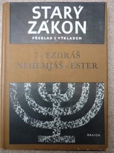 náhled knihy - Starý zákon 7 ezdráš nehemjáš-ester