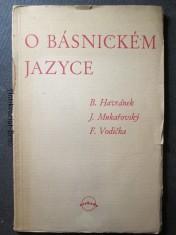 náhled knihy - O básnickém jazyce