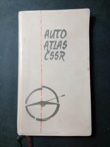 náhled knihy - Auto atlas ČSSR