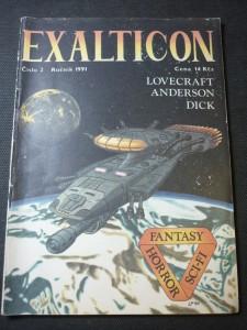 náhled knihy - exalticon číslo 2 ,ročník 1991