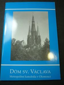 náhled knihy - Dóm sv. Václava : metropolitní katedrála v Olomouci